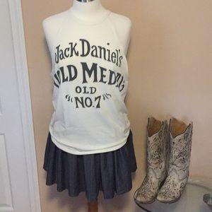 🍀NWT Lucky Brand Jack Daniel's Sleeveless Tank SM